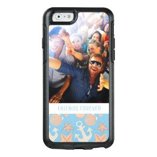 Coque OtterBox iPhone 6/6s Motif nautique en pastel | votre photo et texte