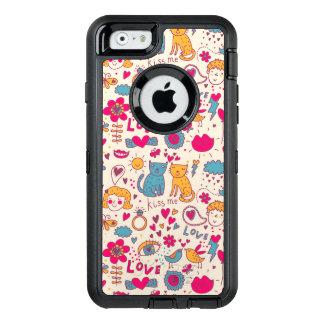 Coque OtterBox iPhone 6/6s Motif romantique coloré