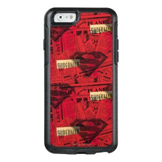 Coque OtterBox iPhone 6/6s Motif rouge de bouclier