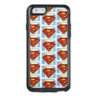 Coque OtterBox iPhone 6/6s Motif rouge et bleu de Superman