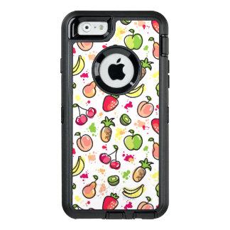 Coque OtterBox iPhone 6/6s motif tiré par la main de fruits