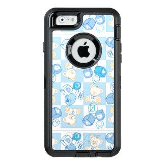 Coque OtterBox iPhone 6/6s Motif vérifié d'ours de nounours