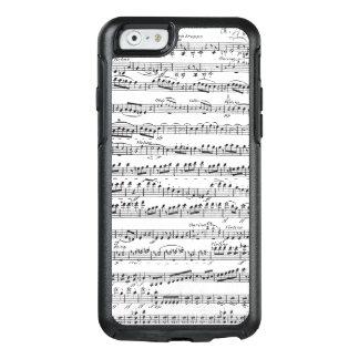 Coque OtterBox iPhone 6/6s Musique de feuille pour l'ouverture à 'Egmont