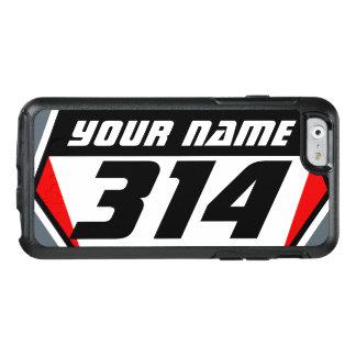 Coque OtterBox iPhone 6/6s Nombre de emballage de MX de vélo de saleté -
