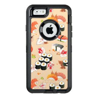Coque OtterBox iPhone 6/6s Nourriture japonaise : Motif 3 de sushi