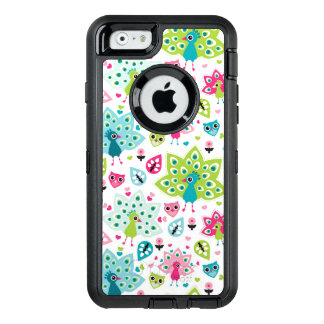 Coque OtterBox iPhone 6/6s oiseau et hibou de paon