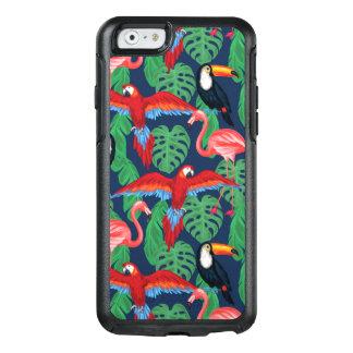 Coque OtterBox iPhone 6/6s Oiseaux tropicaux dans des couleurs lumineuses