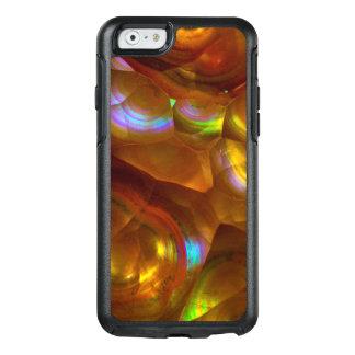 Coque OtterBox iPhone 6/6s Opale de feu orange iridescente