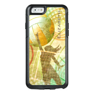 Coque OtterBox iPhone 6/6s Or ensoleillé du volleyball des femmes