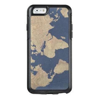 Coque OtterBox iPhone 6/6s Or et carte bleue du monde