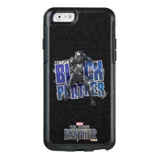 Coque OtterBox iPhone 6/6s Panthère noire | T'Challa - graphique de panthère