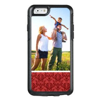 Coque OtterBox iPhone 6/6s Papier peint fait sur commande de rouge de photo