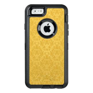 Coque OtterBox iPhone 6/6s Papier peint floral d'or de luxe