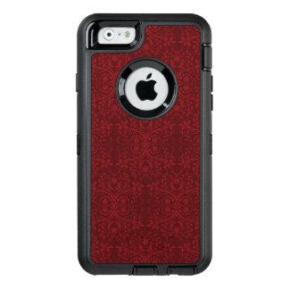 Coque OtterBox iPhone 6/6s Papier peint floral rouge détaillé