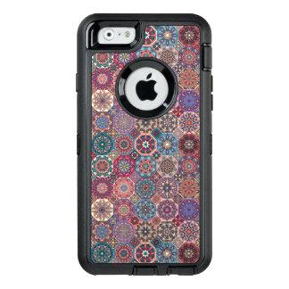 Coque OtterBox iPhone 6/6s Patchwork vintage avec les éléments floraux de