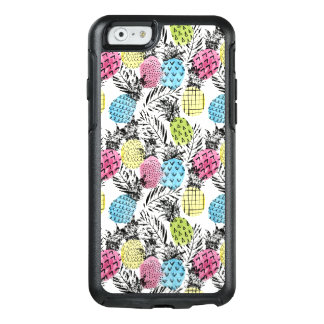 Coque OtterBox iPhone 6/6s Paumes de grunge d'ananas