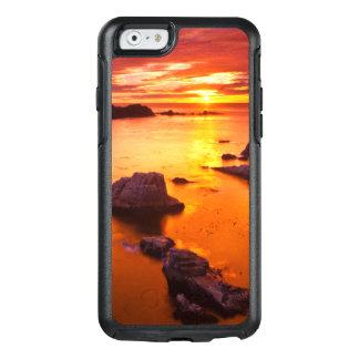 Coque OtterBox iPhone 6/6s Paysage marin orange, coucher du soleil, la