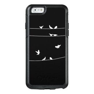 Coque OtterBox iPhone 6/6s Pegions sur le cas de téléphone de fil
