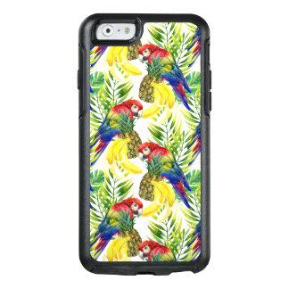 Coque OtterBox iPhone 6/6s Perroquets et fruit tropical