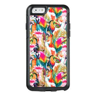 Coque OtterBox iPhone 6/6s Perroquets et palmettes