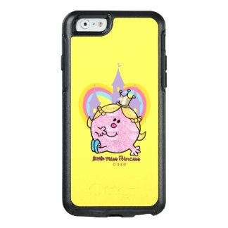 Coque OtterBox iPhone 6/6s Petite Mlle princesse Posing With Castle et coeur