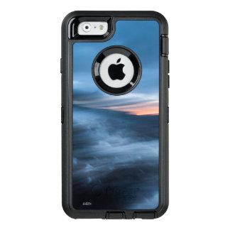 Coque OtterBox iPhone 6/6s photo abstraite de la baie, bleu