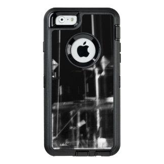 Coque OtterBox iPhone 6/6s photo abstraite marin noir et blanc