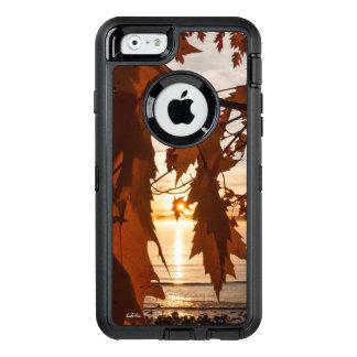Coque OtterBox iPhone 6/6s Photo de feuilles d'érables rouge