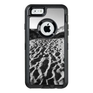 Coque OtterBox iPhone 6/6s Photo d'une plage en noir et blanc