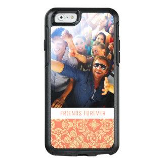 Coque OtterBox iPhone 6/6s Photo et texte faits sur commande sur l'arrière -