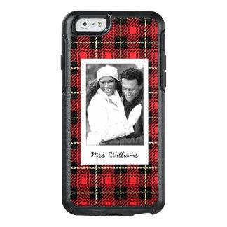 Coque OtterBox iPhone 6/6s Photo faite sur commande et arrière - plan rouge