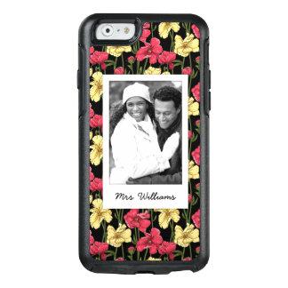 Coque OtterBox iPhone 6/6s Photo faite sur commande et motif floral élégant
