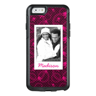Coque OtterBox iPhone 6/6s Photo faite sur commande et motif rose nommé d'Emo