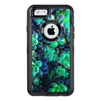 Coque OtterBox iPhone 6/6s Photo succulente verte de nature