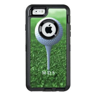 Coque OtterBox iPhone 6/6s Piquer outre du vert du golfeur personnalisé