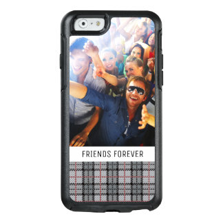 Coque OtterBox iPhone 6/6s Plaid fait sur commande de pixel de photo et de