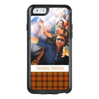 Coque OtterBox iPhone 6/6s Plaid lumineux fait sur commande d'automne de
