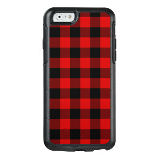 Coque OtterBox iPhone 6/6s Plaid rouge