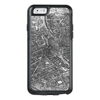 Coque OtterBox iPhone 6/6s Plan de Paris, connu sous le nom de 'Plan de