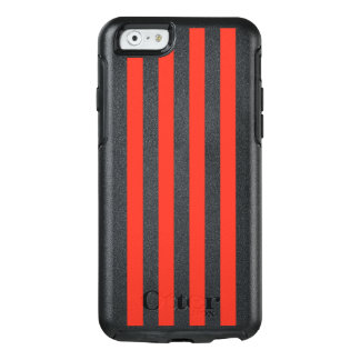 Coque OtterBox iPhone 6/6s Rayures rouges verticales