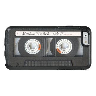 Coque OtterBox iPhone 6/6s Regard drôle de rétro de musique de cassette bande