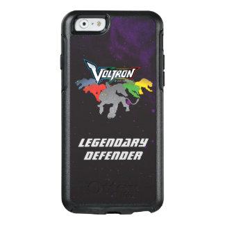 Coque OtterBox iPhone 6/6s Remplissage de lions de Voltron |