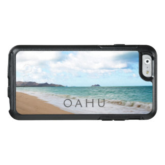 Coque OtterBox iPhone 6/6s Ressacs et plage d'Oahu Hawaï