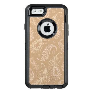 Coque OtterBox iPhone 6/6s Rétro-feater-pâle-motif