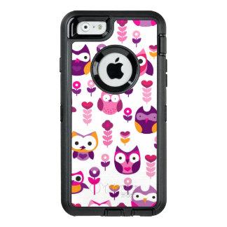 Coque OtterBox iPhone 6/6s rétro motif coloré d'oiseau de hibou