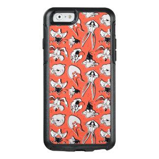 Coque OtterBox iPhone 6/6s Rétro motif tramé LOONEY de TUNES™