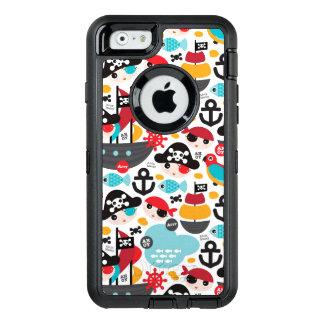 Coque OtterBox iPhone 6/6s Rétro navigation d'illustration de pirates