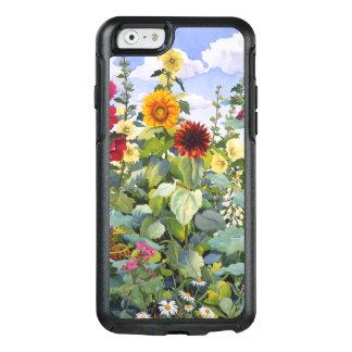 Coque OtterBox iPhone 6/6s Roses trémière et tournesols 2005