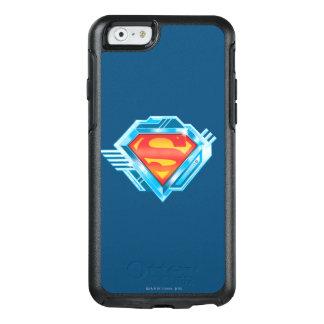 Coque OtterBox iPhone 6/6s S-Bouclier logo rouge et bleu de | de Superman en