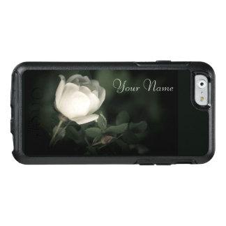 Coque OtterBox iPhone 6/6s Sauvage blanc s'est levé sur un arrière - plan
